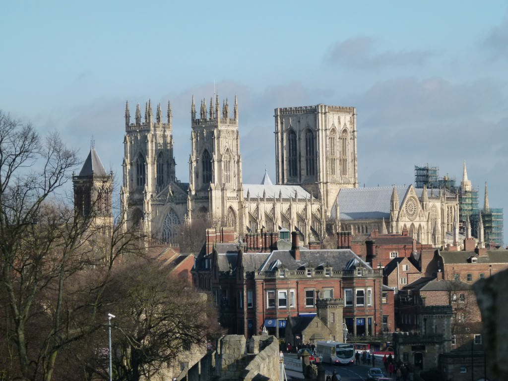 York Minster Cathedral from a distance
