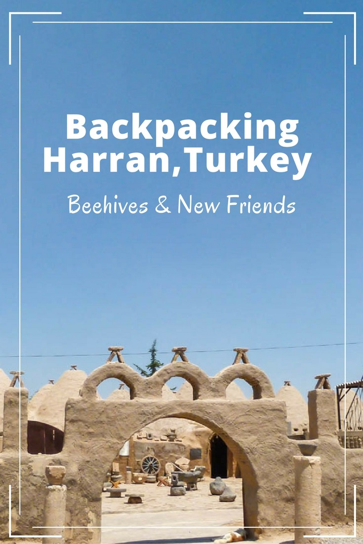 Backpacking Harran, Turkey - Beehives & New Friends