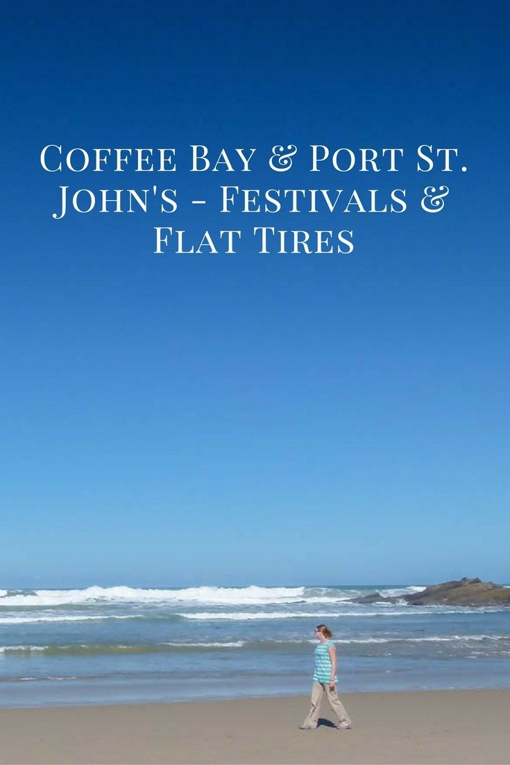 Coffee Bay & Port St. John's - Festivals & Flat Tires