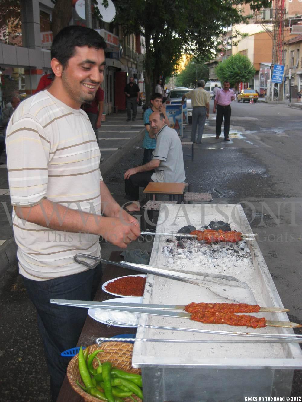 eating in turkey, diyarbakir