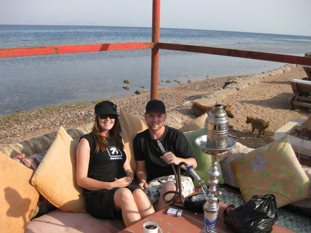 backpacking dahab