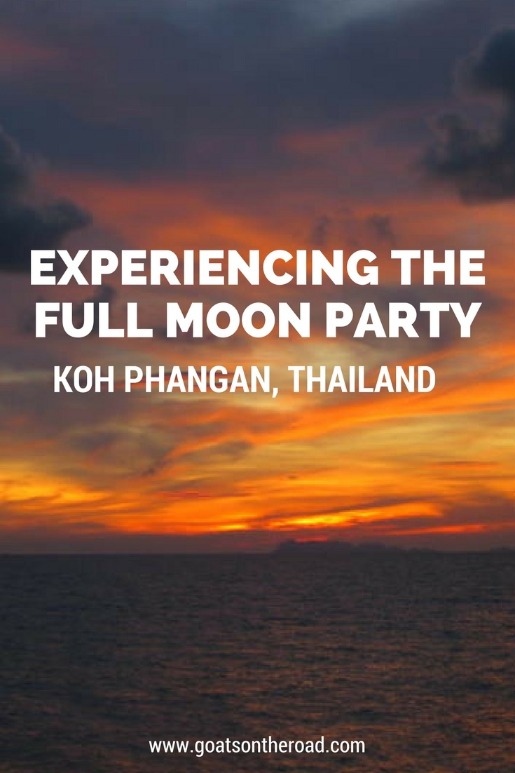 Koh Phangan, Thailand - Experiencing the Full Moon Party