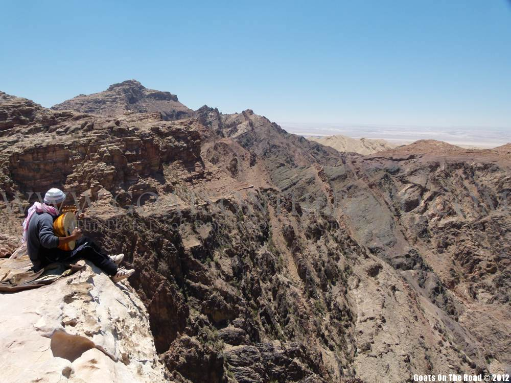 backpacking jordan