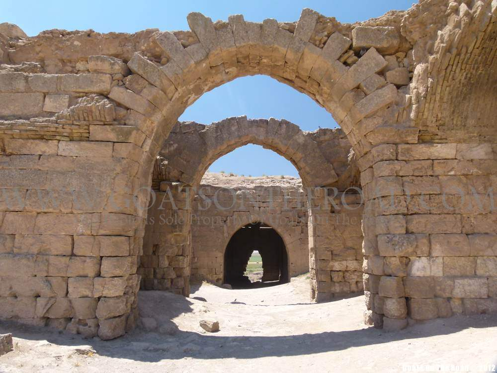 castle in Harran backpacking turkey
