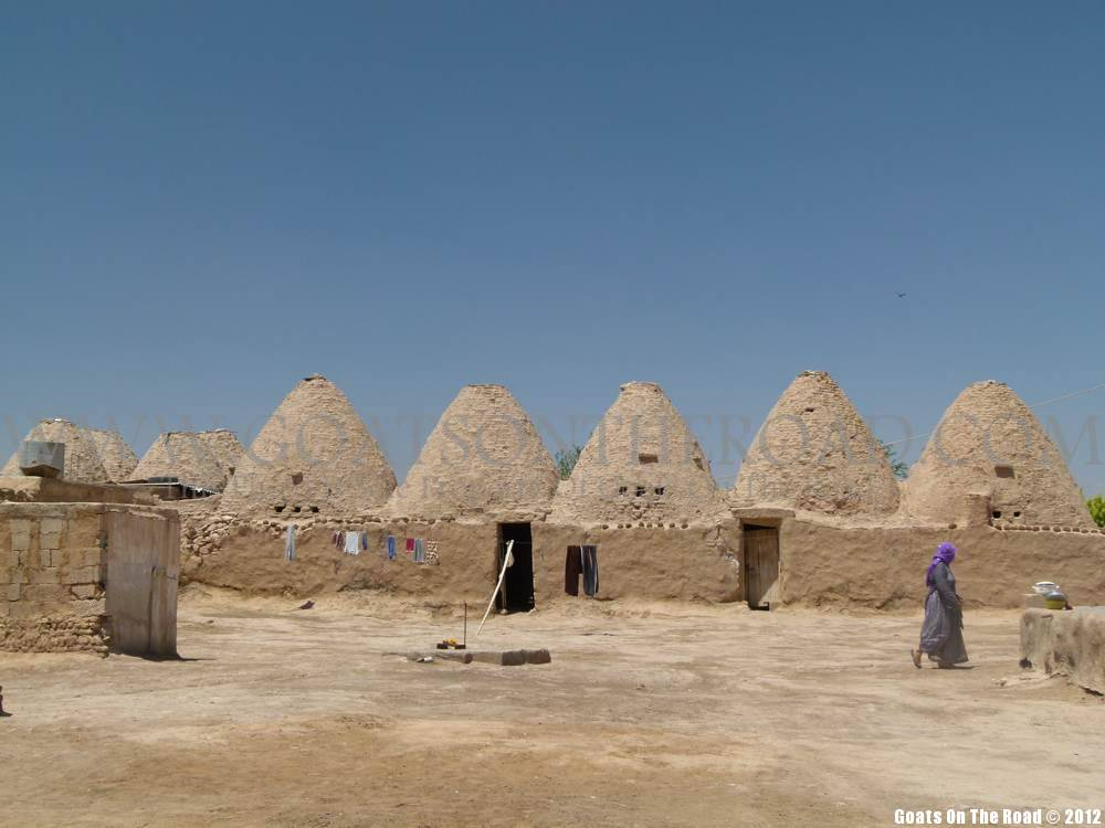 beehive homes backpacking Harran, Turkey
