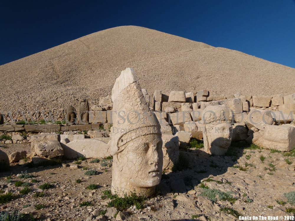 mt. nemrut heads, eastern turkey
