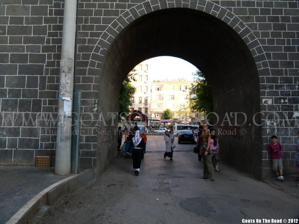 walled city diyarbakir turkey