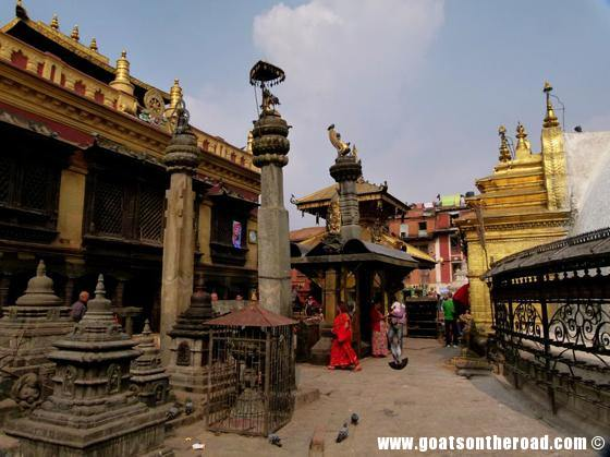 budget backpackers, travel kathmandu nepal, monkey temple