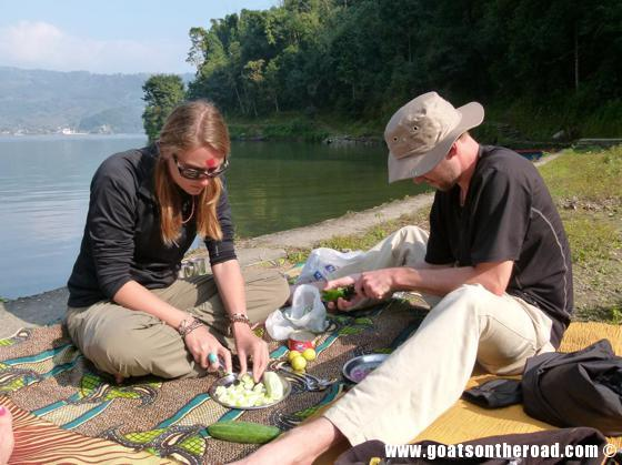budget backpackers, travel pokhara nepal lake