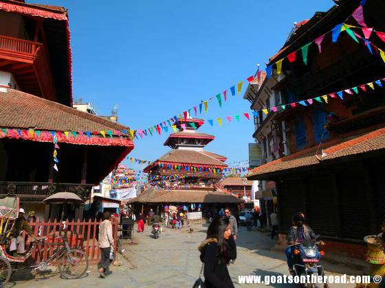 budget backpacker, travel Kathmandu, Nepal