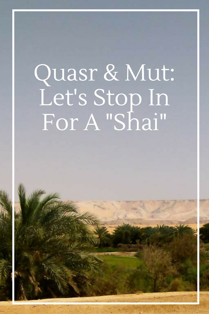 "Quasr & Mut: Let's Stop In For A ""Shai"""