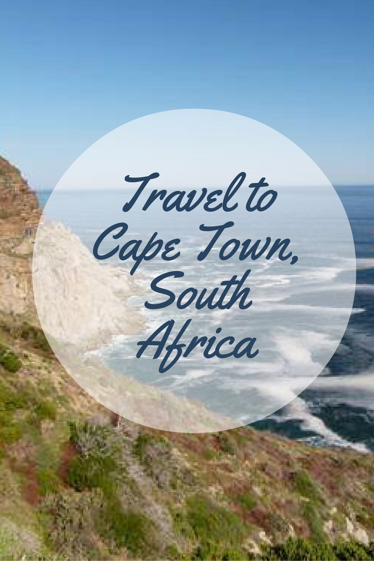 Travel to Cape Town, South Africa