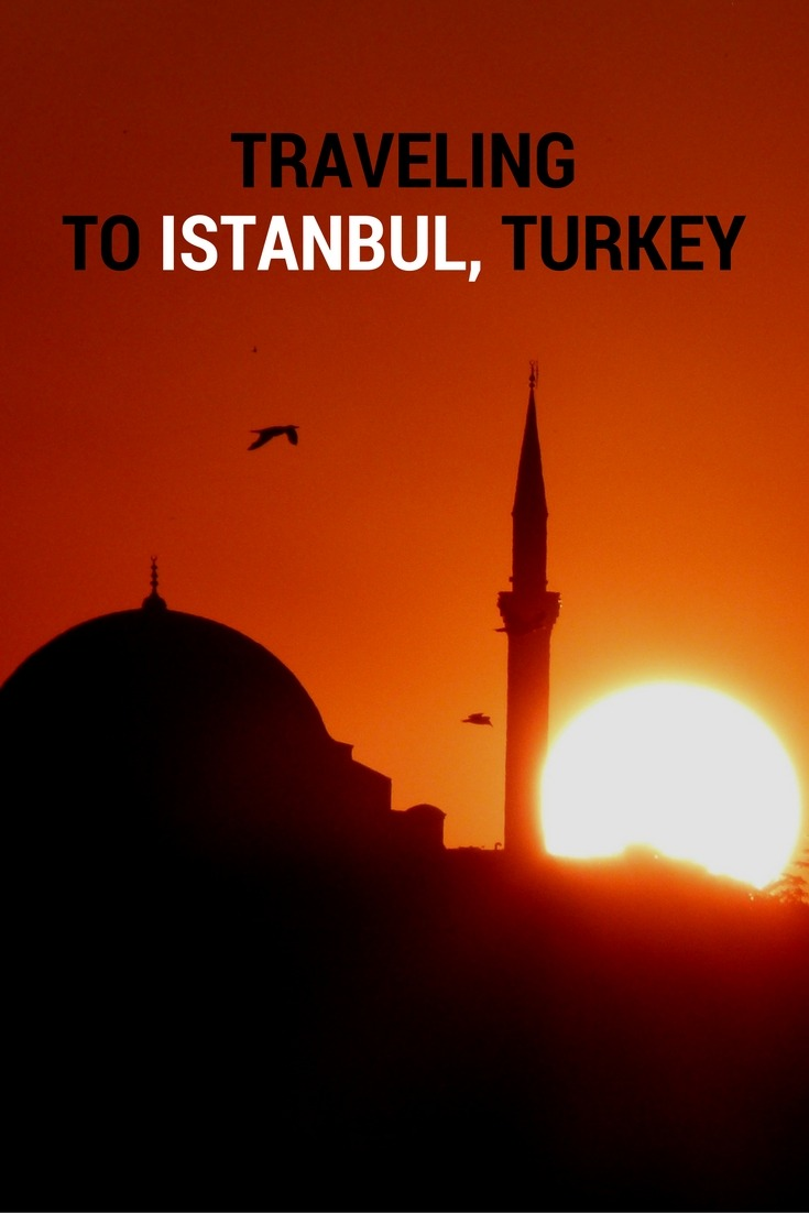Travelling to Istanbul, Turkey