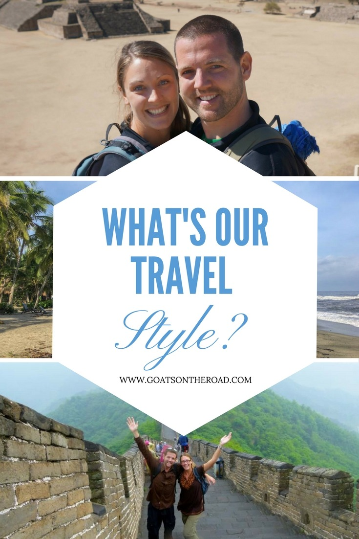 What's Our Travel Style-