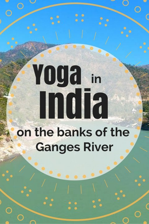 Yoga In India On The Banks Of The Ganges River