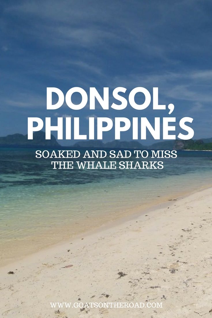 Donsol - Soaked & Sad To Miss The Whale Sharks