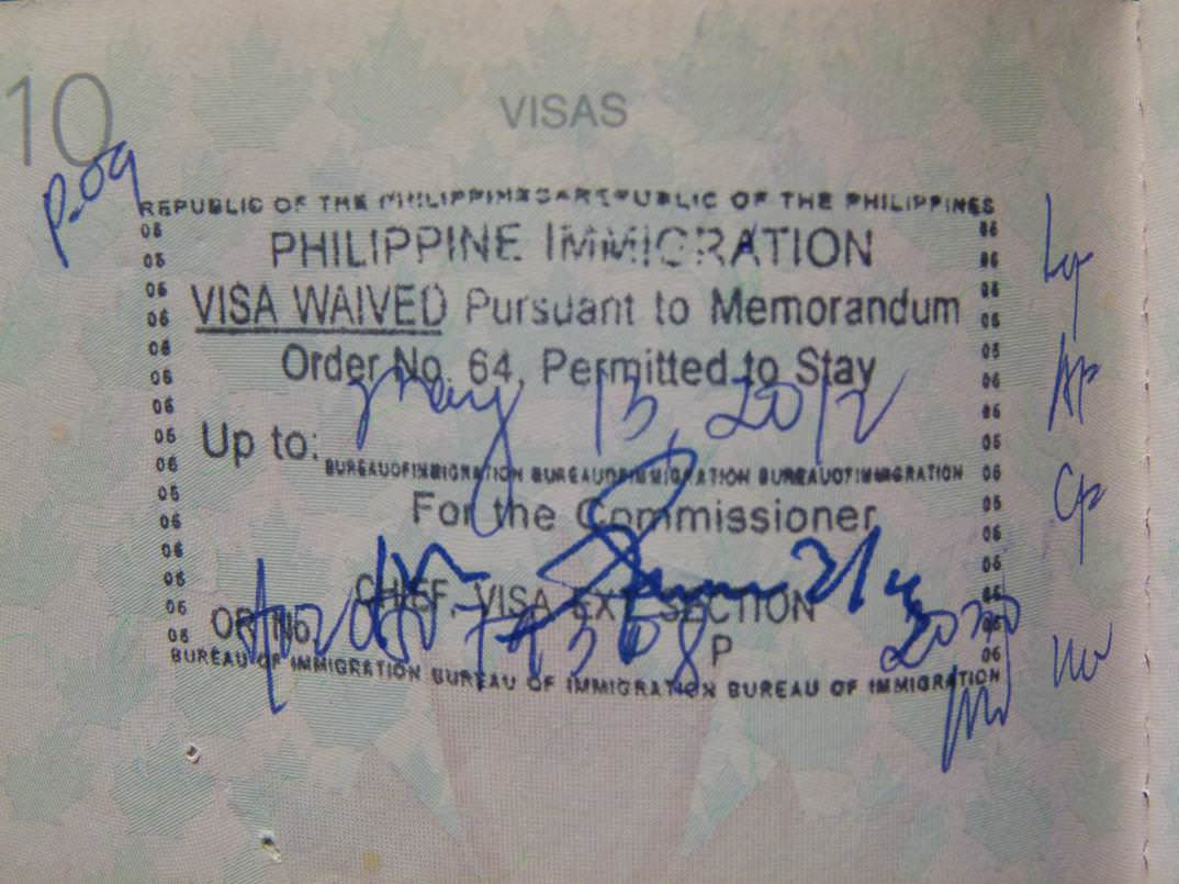 travel visas in passport travel planning