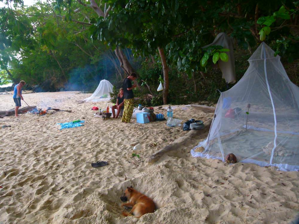 off the beaten path in se asia camping around el nido philippines