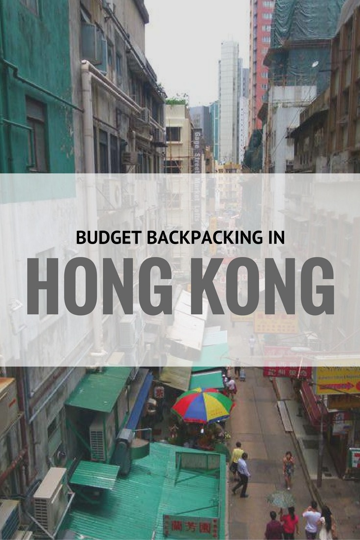 Budget Backpacking in Hong Kong