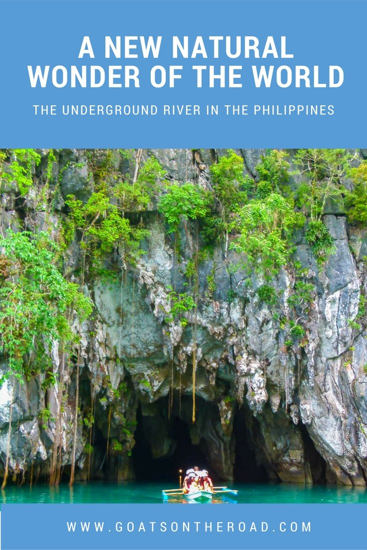 The Underground River in The Philippines - A New Natural Wonder Of The World