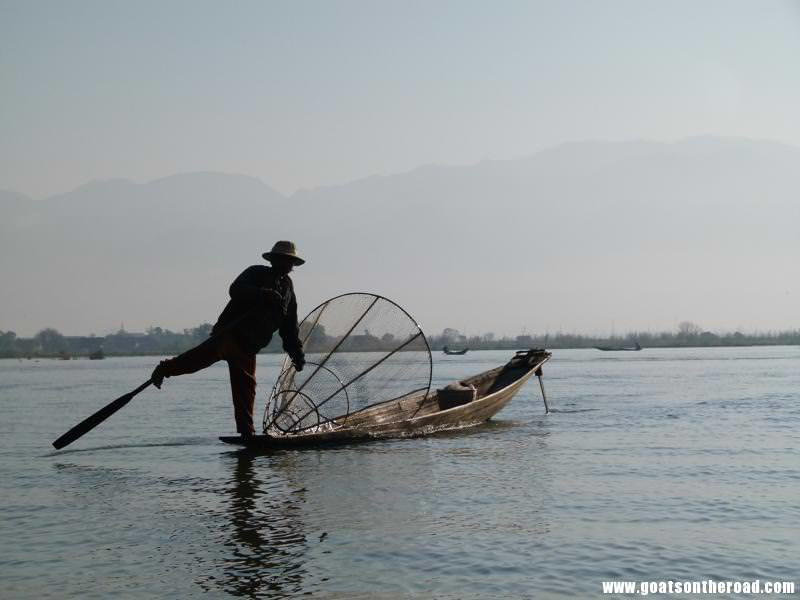 Inle Lake budget backpacker what to see