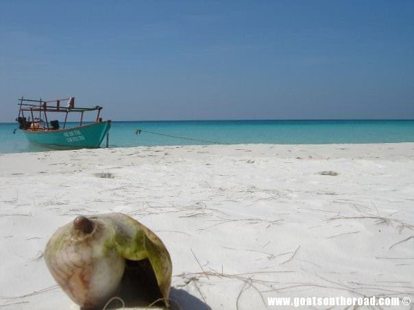 Koh Rong, Cambodia. The nicest beach in Southeast Asia