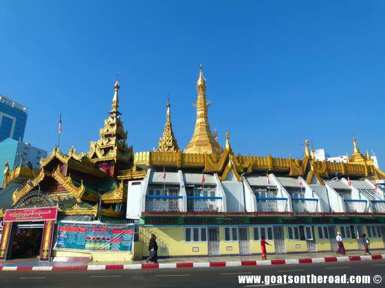 budget backpackers, bus terminal, yangon
