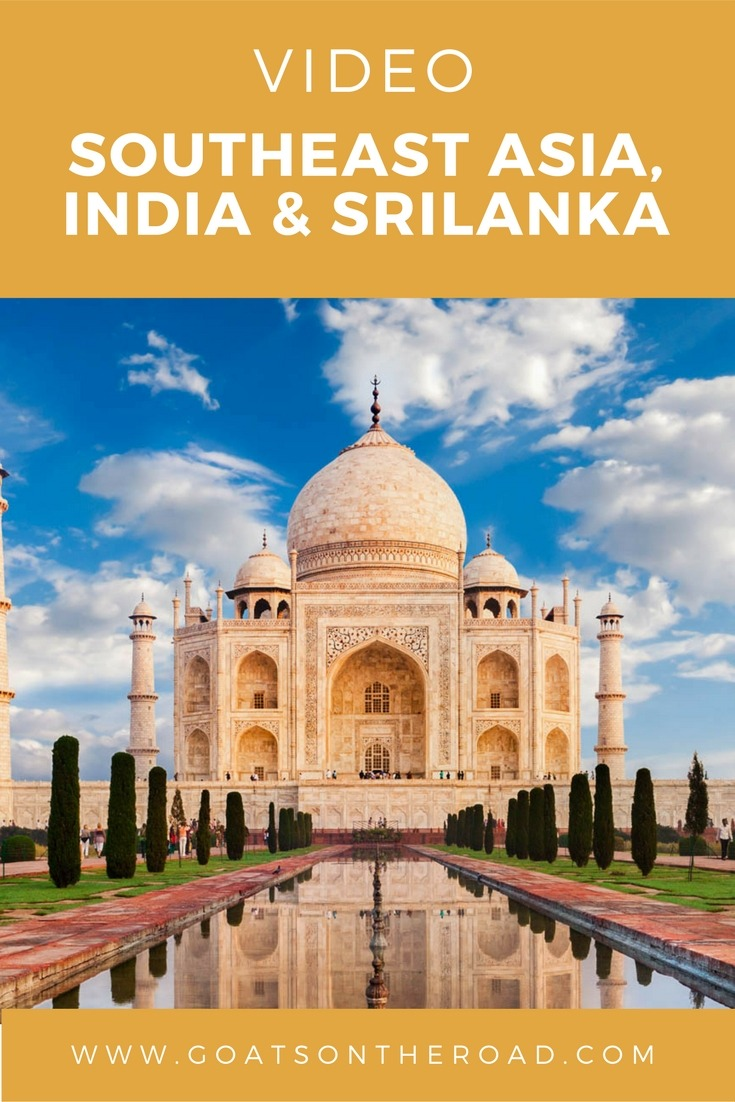 Video- SE Asia, India & Sri Lanka Trip - So Here We Are!