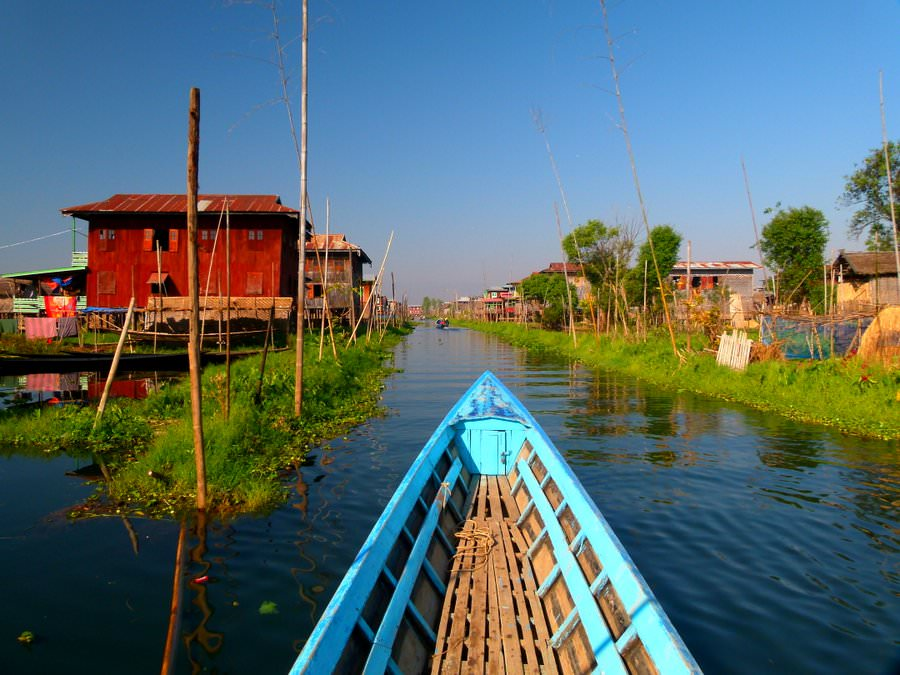off the beaten track se asia inle lake myanmar