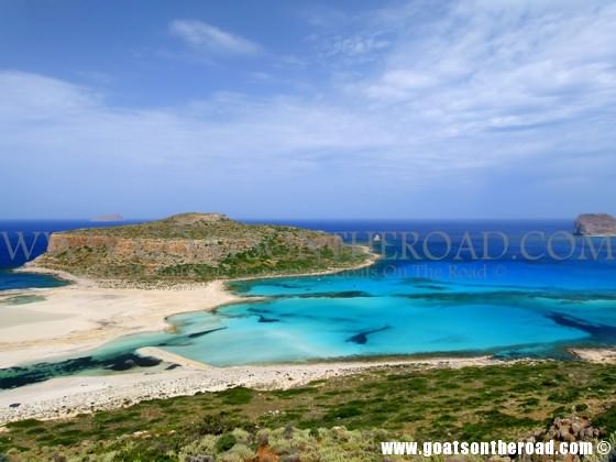 Balos Beach For Budget Backpackers