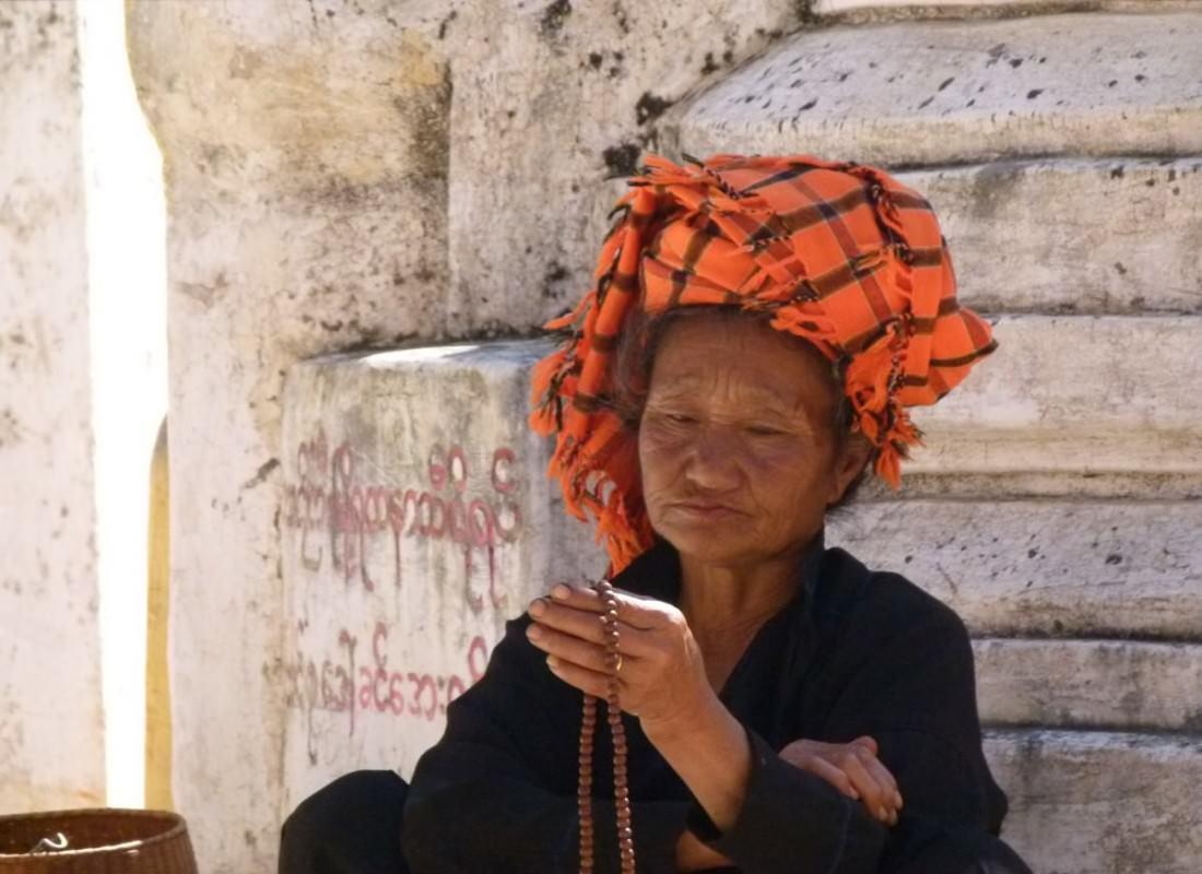 Beads Of Prayer - Inle Lake, Myanmar