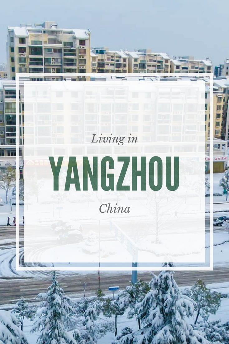 Living In Yangzhou, China
