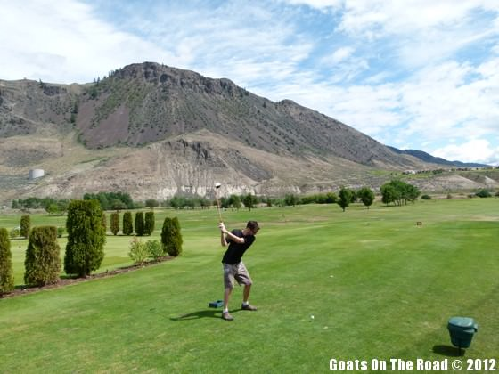 golfing in kamloops