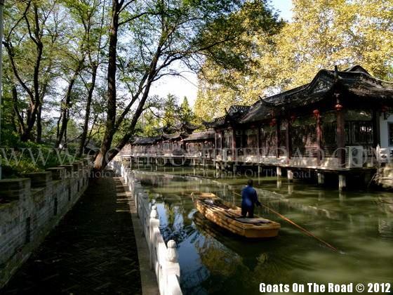canals yangzhou china