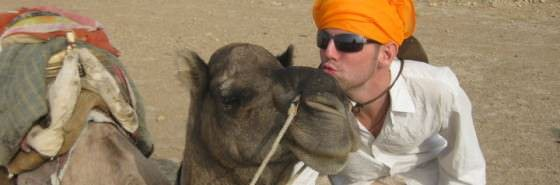 backpacking safari Camel Safari - Jailsamer, India