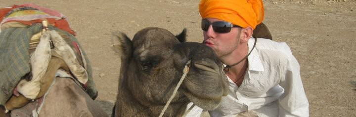 Camel Safari - Jailsamer, India