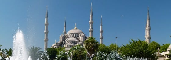 Visiting Mosques in Istanbul on a backpackers budget