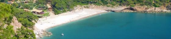 Cove at Kabak Turkey