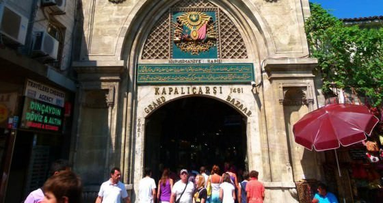 Shopping In Istanbul's Bazaars as a budget backpacker
