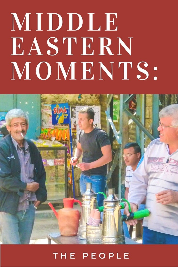 Middle Eastern Moments: The People