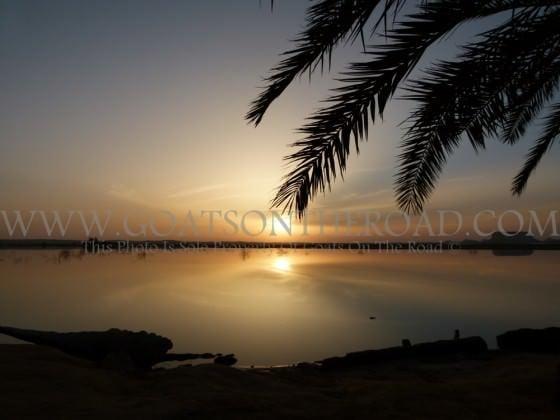 A Siwa Oasis Sunset