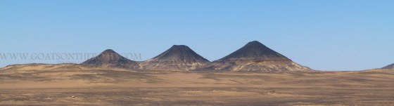 The Natural Pyramids Of The Black Desert