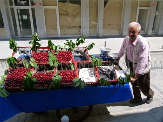 cherries in turkey