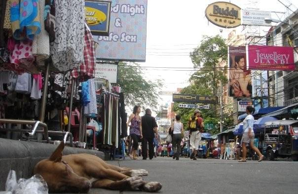 The Hustle and Bustle of backpacking Bangkok Thailand