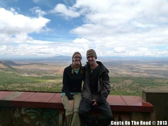 At The Rift Valley before safari