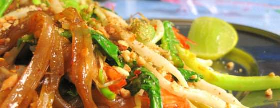 Delicious Thai Food Backpacking Thailand