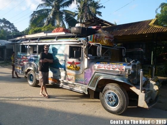 backpacking philippines transport