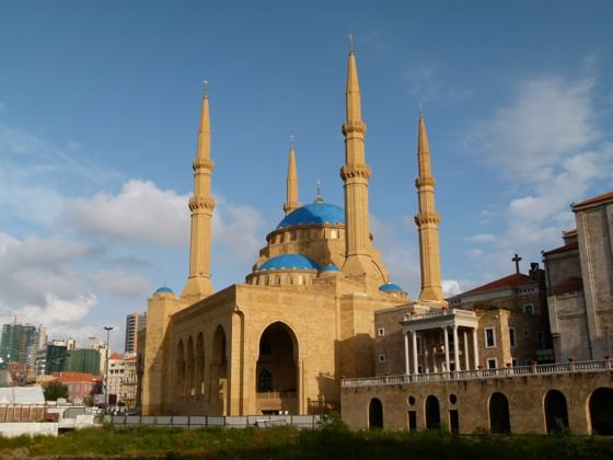 mohammed al-amin mosque photo