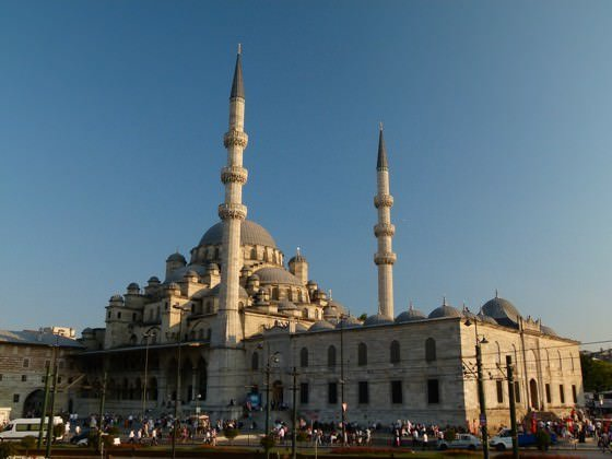 The Yeni Cami Mosque, istanbul
