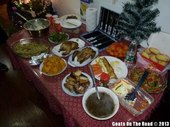 christmas dinner china